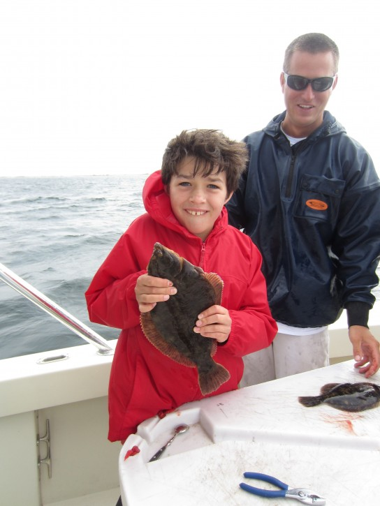Flounder caught on High Hook