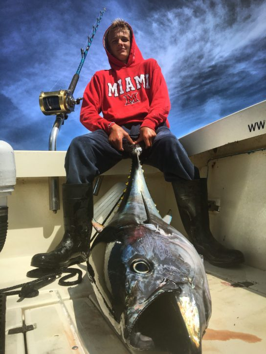 Bluefin landed on High Hook